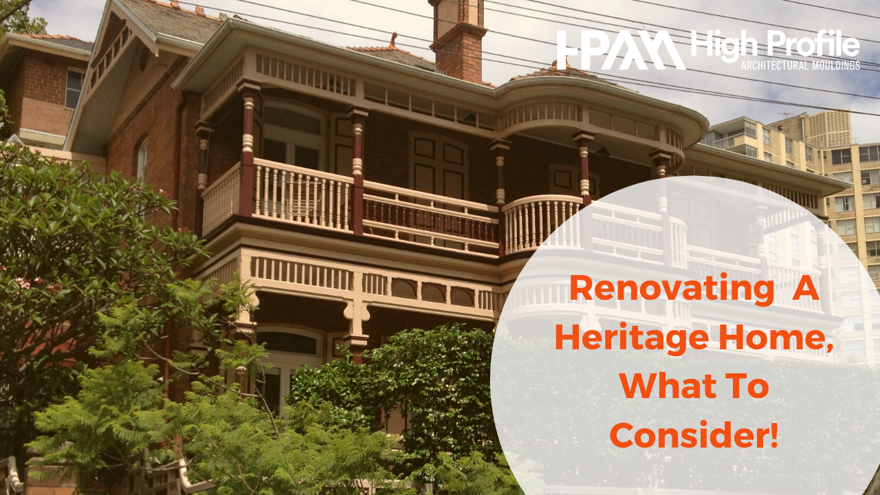Renovating heritage houses - Renovating a Heritage Home: Necessary Considerations To Be Taken