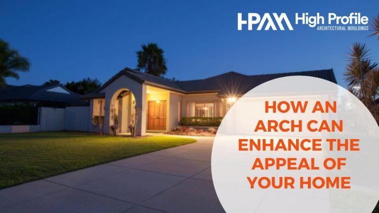 Enhance the Entry of Your Home with an Arch and Keystone